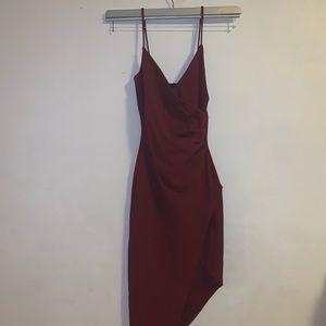 Windsor Dresses - Burgundy dress